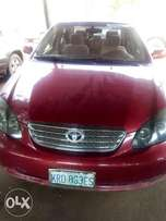 5 Months used Toyota Corolla. 2005 Model. MANUAL GEAR.