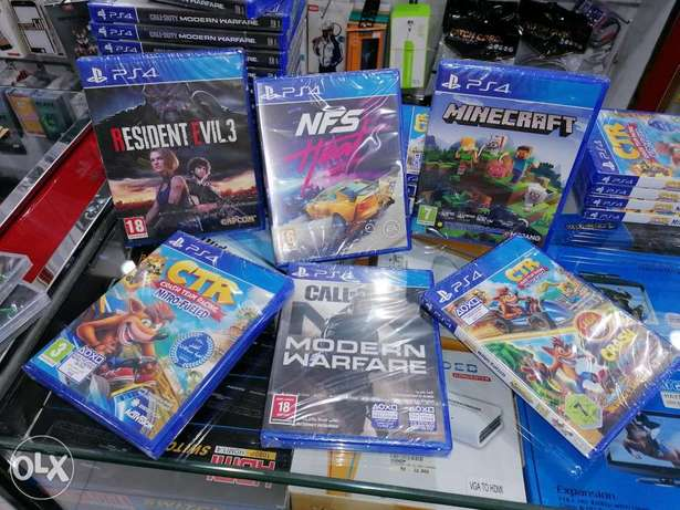Ps4 new collection