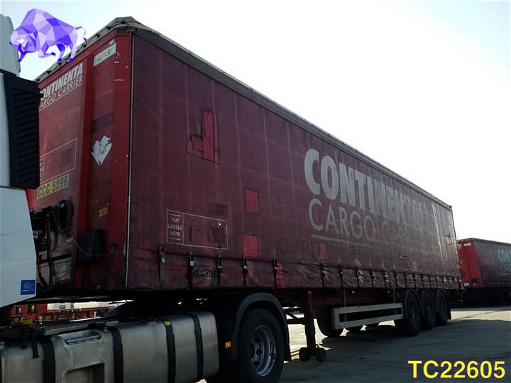 Pacton Curtainsides - 2007