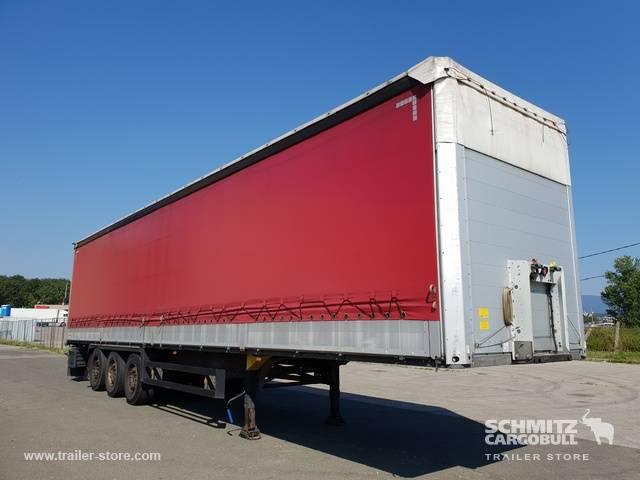 Schmitz Cargobull Semitrailer Klizna cerada na stražnjoj stijenki - 2013