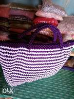 Handcrafted bead bag
