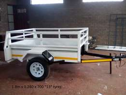 New quality custom build trailers with papers.