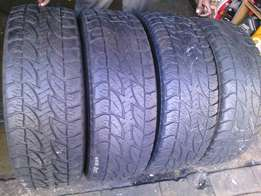 265/65/R17 on special in a good condition for sale