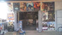 Video library on sale located in bombo mile 21 at only 2.5m