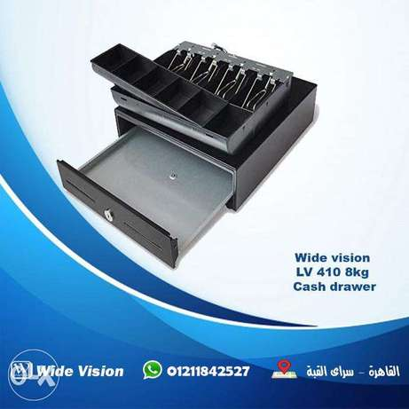 wide vision LV 410 Cash drawer درج صرافة كاشير