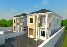 Luxury 2nos of luxury 4BR detached duplex at Atlantic view est Lekki