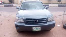 Registered 2003 Toyota Highlander Limitted Edition