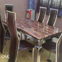 MD Quality marble dining table 6 seater