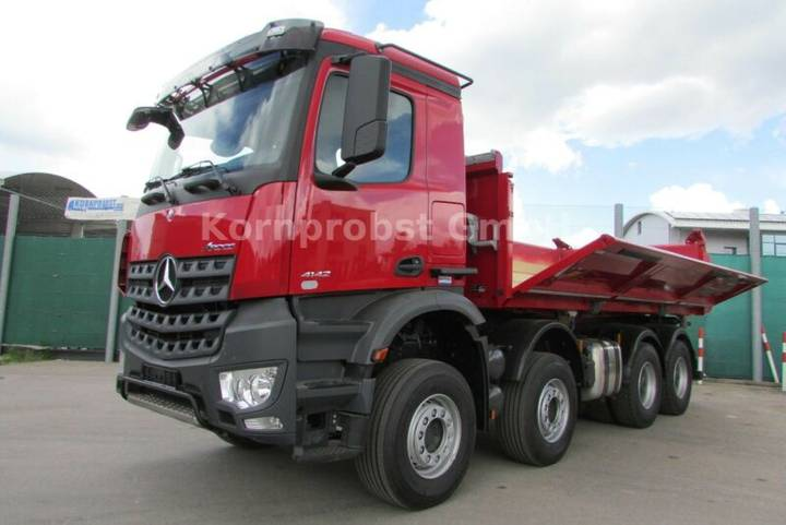 Mercedes-Benz 4142 K 8x4 BB - BORDMATIK - Nr.: 667 - 2018