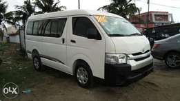 Registered 2012 Toyota Hiace Hummer 16-Passenger Bus Upgraded To 2015.