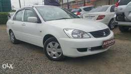 Mitsubishi Lancer, New model, Pearl White