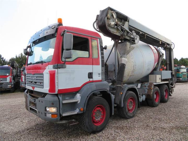 MAN Tga 35.400 8x4 Stetter 9 M3 Theam 14m+4m - 2007