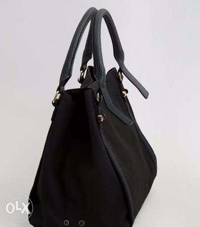 Brand New Black Slouchy NEW LOOK TOTE Handbag Wuse II - image 6