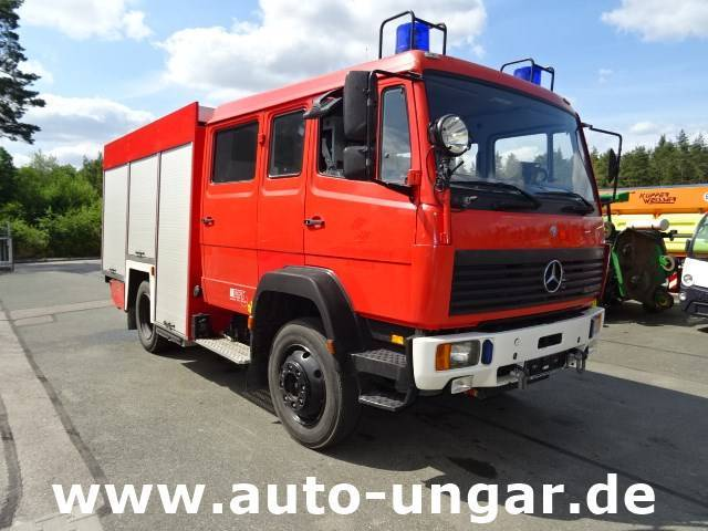 Mercedes-Benz 1124 Af Gft Feuerwehr Lf16 4x4 Wasser + Schaum - 2000