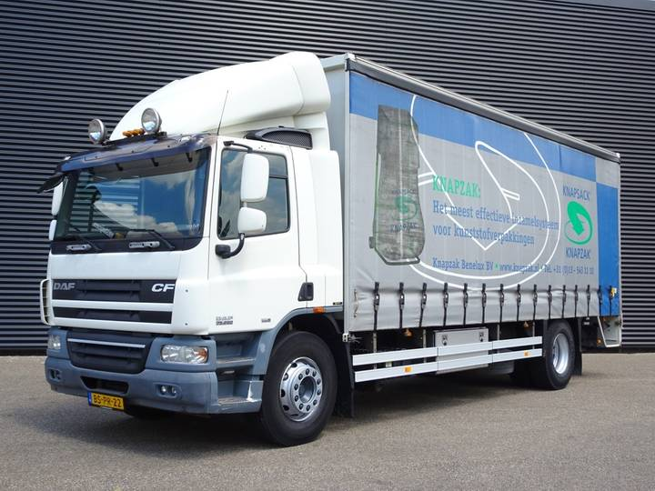 DAF CF 75.250 EURO 5 / CURTAINCIDER + TAIL LIFT - 2006
