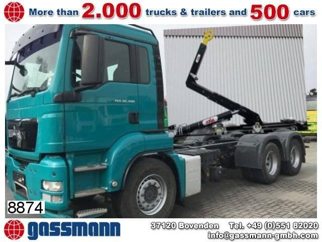 MAN tgs 26.400 6x4 bb abroller , 199.000km - 2009