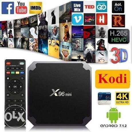 android tv box x96 2GB/16GB 4K HDR Amlogic S905W