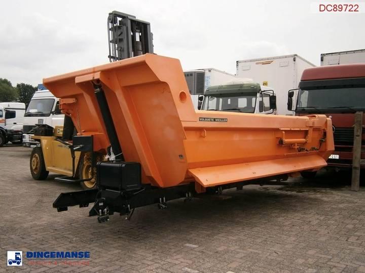 Meiller Tipper 14 m3 hydraulic tailgate NEW