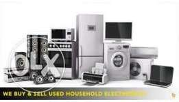 Convert your used household item into cash.Instant.