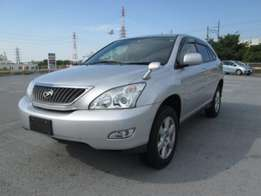Foreign Used Toyota Harrier 4WD, Silver Asking Price 3,250,000/=
