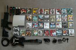 PS3 with loads of goodies and games