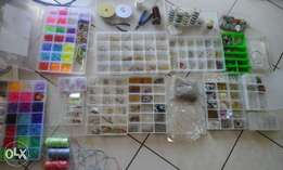 a variety of arts and crafts supplies for sale