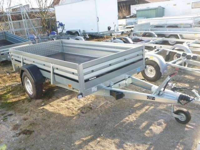 Brenderup 2300S Stahl, 1,3 to. kippbar, 3010x1530x400mm