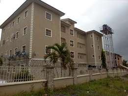 Newly POP finished and serviced 3bedroom flat to let at Utako off Arab