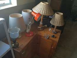 Variety bedside lamps