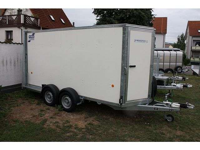 Ifor Williams Bv 125 Kofferanhänger