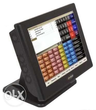 pos system + software + touch all in one + printers