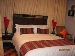 3 well furnished rooms with en suite.