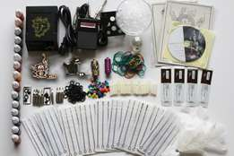 Professional 2 Guns Tattoo kit Complete Accessories