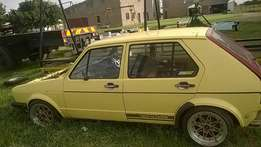 Vw golf 1 20ltr 8v grossflow head with itb's