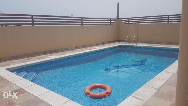 Two bedrooms fully furnished apartment with pool