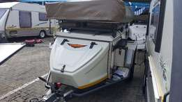 2012 Jurgens Safari XT140 Off Road Camping Trailer