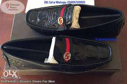 Affordable Gucci Leather Drivers Shoes
