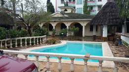 SPACIOUS AND SERENE 5br Villa with swimming pool for rent in Mtwapa