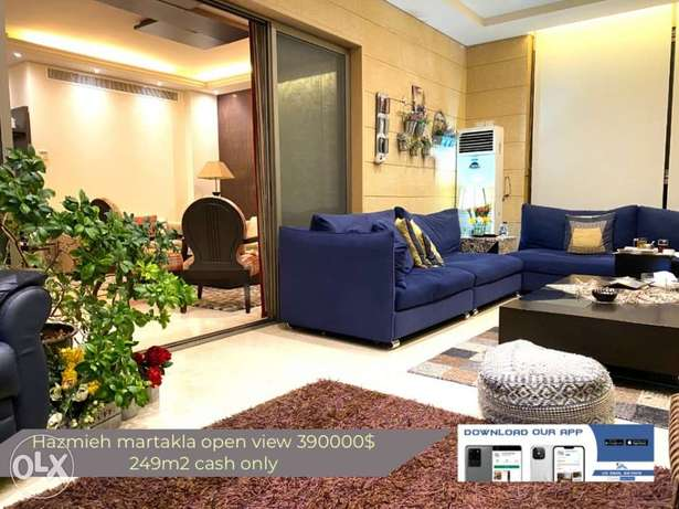 hazmieh martakla super deluxe cash only with view