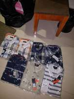 Nice and durable shirts and shoes for sale.