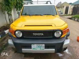 Neatly used Nigeria Used Toyota FJ Cruiser. Going for 3.2m only...