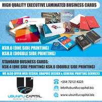 High Quality Executive Laminated Business Cards