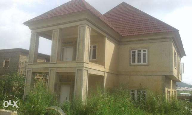 A tastefully nearly completed four bedroom duplex for sale for 55M Lokogoma - image 3