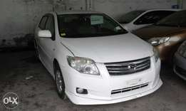 Toyota axio with body kits