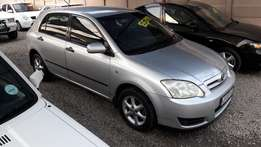 2004 Toyota RunX 1.4 in good condition for sale