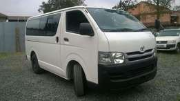 Toyota Hiace KCK for sale at Ksh 1.8M