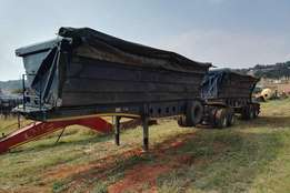 Afrit Side tipper Trailers