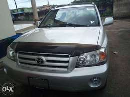 Toks Toyota highlander full options