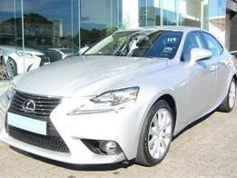 2015 Lexus IS200T EX with warranty till 2021