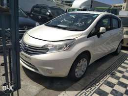 Nissan note 2012 New shape